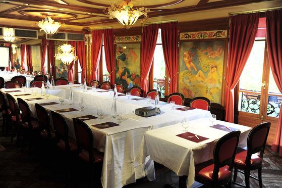 Salle séminaire  - Restaurant Au Pied de Cochon