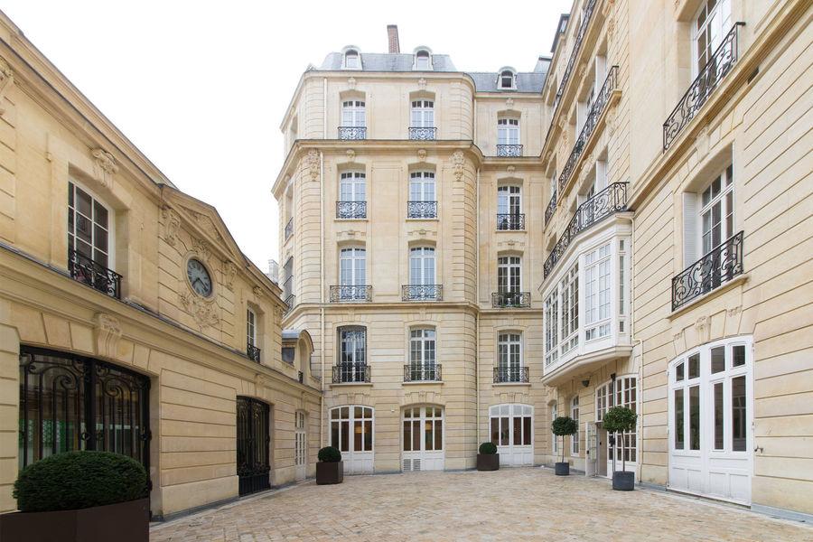 Auditorium Paris Centre Marceau Cour Intérieure