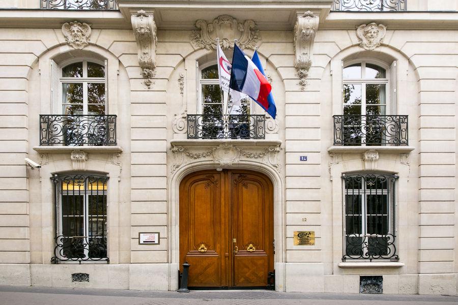 Auditorium Paris Centre Marceau Porte d'entrée