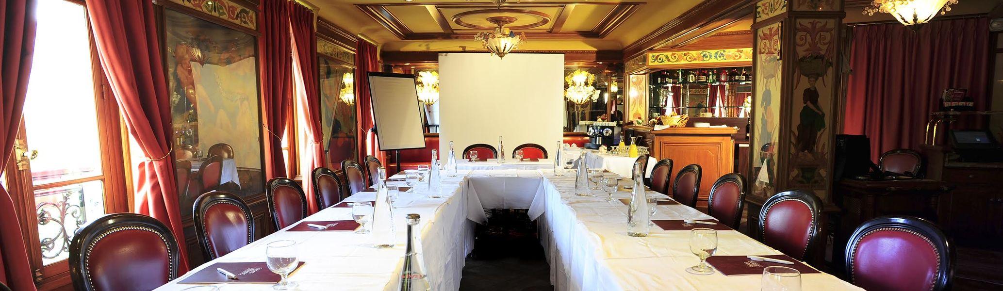 Restaurant Au Pied de Cochon Salle de réunion