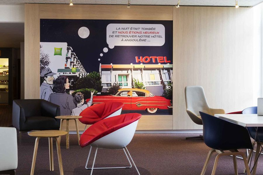 Hôtel ibis Styles Angouleme Nord Accueil