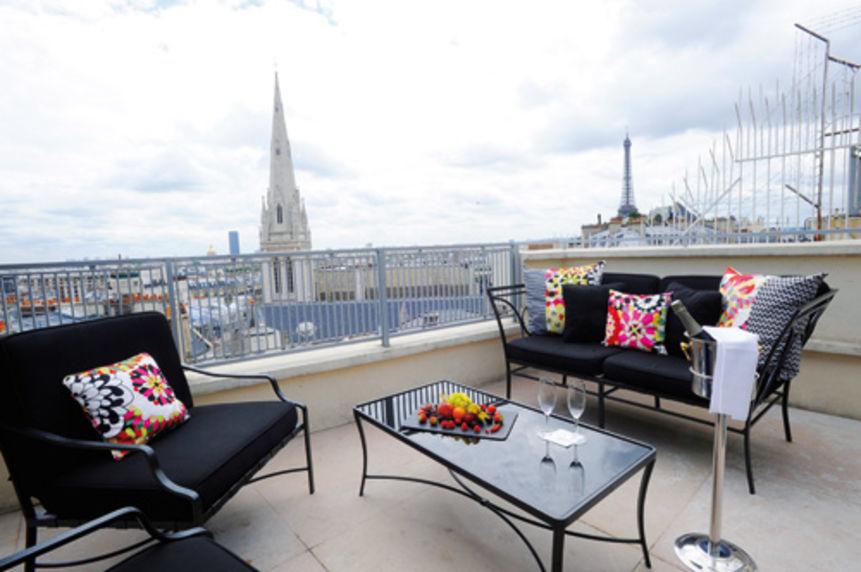 Hôtel De Sers ***** Suite Panoramique 81 - Terrasse