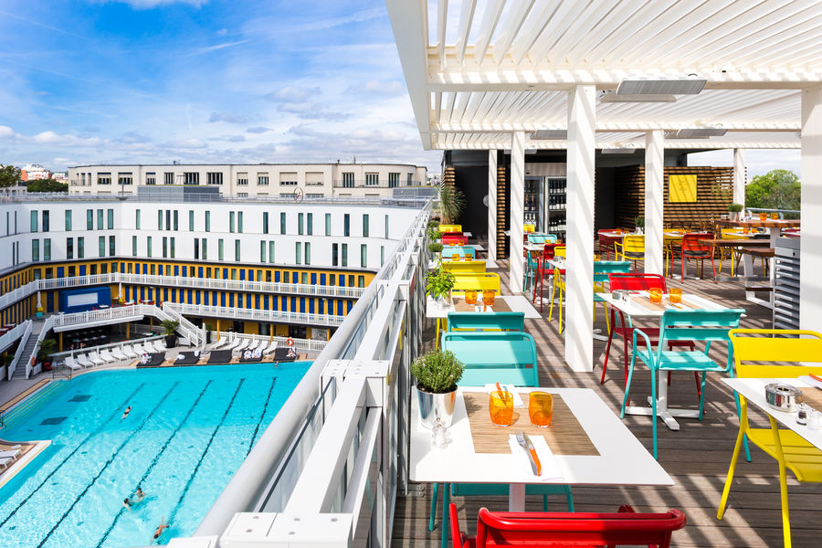 Hôtel Molitor Paris by MGallery ***** Rooftop Terrasse