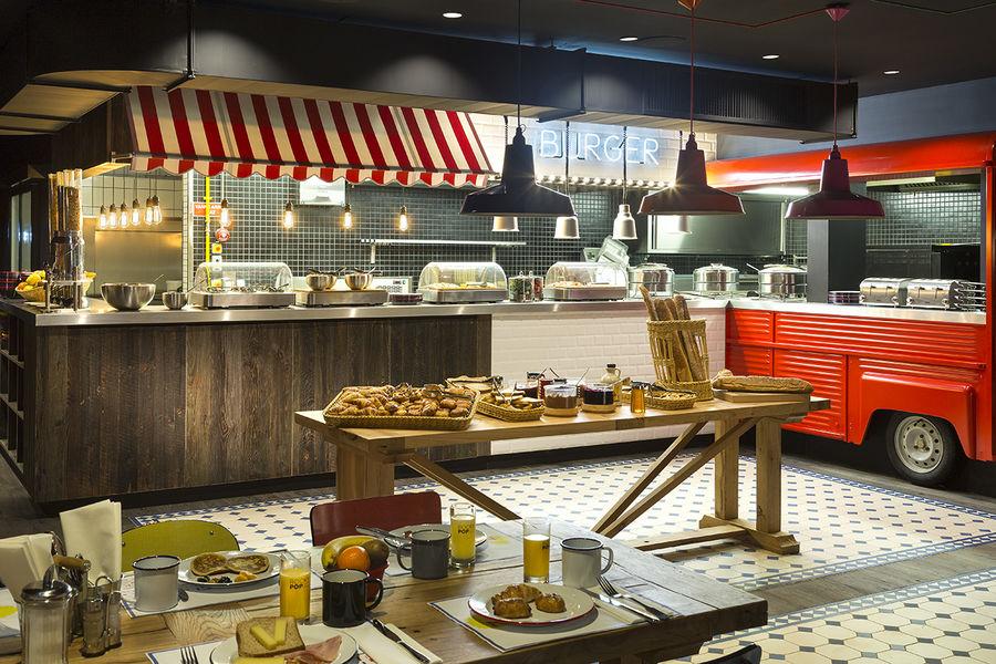 Hôtel Rocky Pop *** Buffet petit-déjeuner