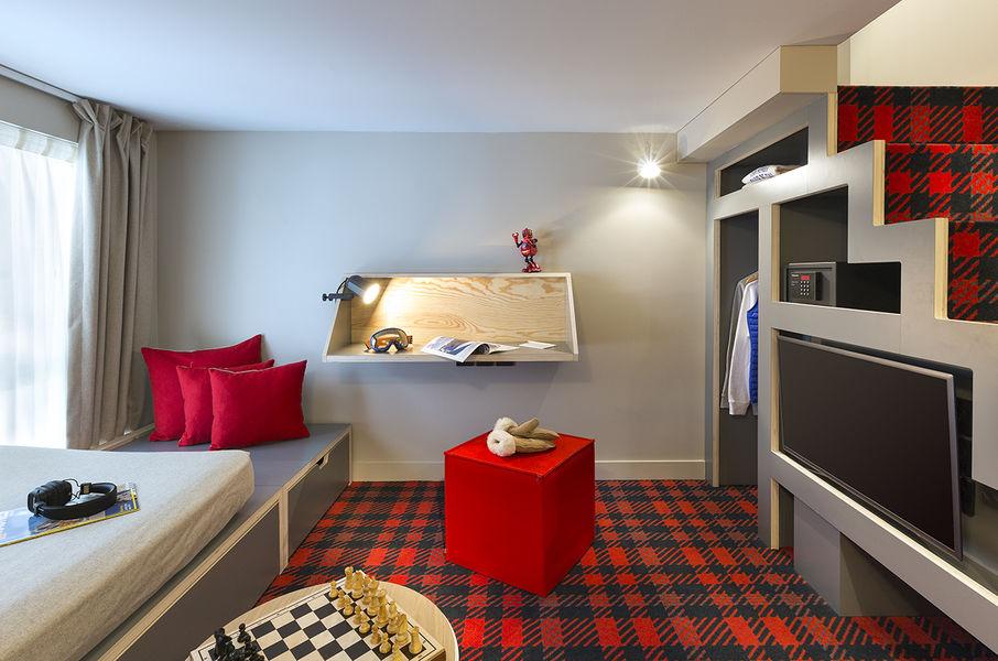 Hôtel Rocky Pop *** Chambre mezzanine