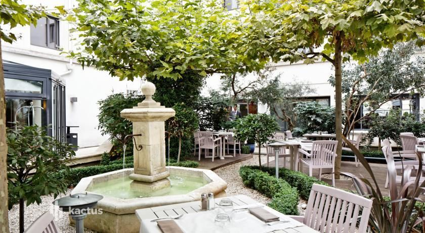 Hôtel Concorde Montparnasse **** Patio