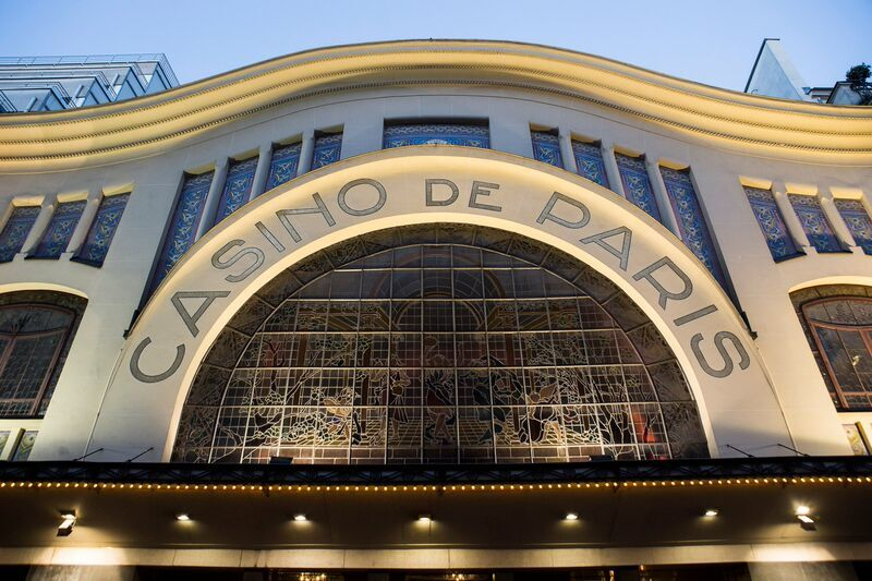 CASINO DE PARIS Façade