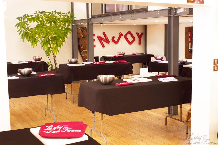 Upgrad Lounge - Activité culinaire