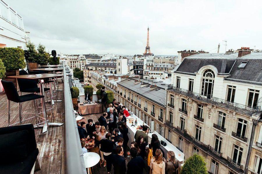Hôtel Marignan Champs-Elysées ***** Terrasse Suite Marignan Tour Eiffel