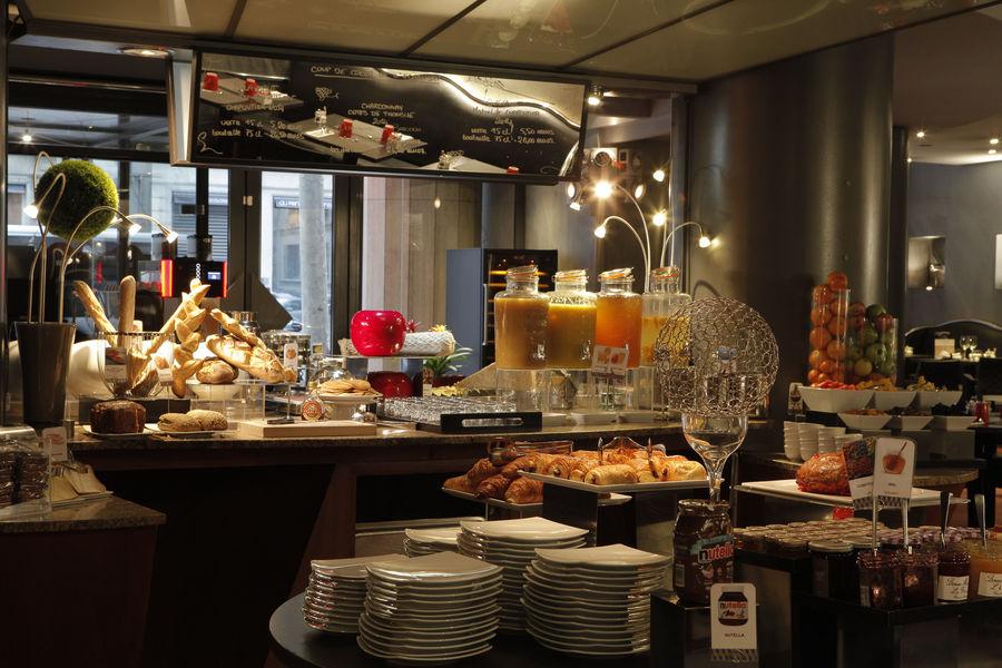 Hôtel Mercure Lyon Centre Saxe Lafayette **** Petit-déjeuner