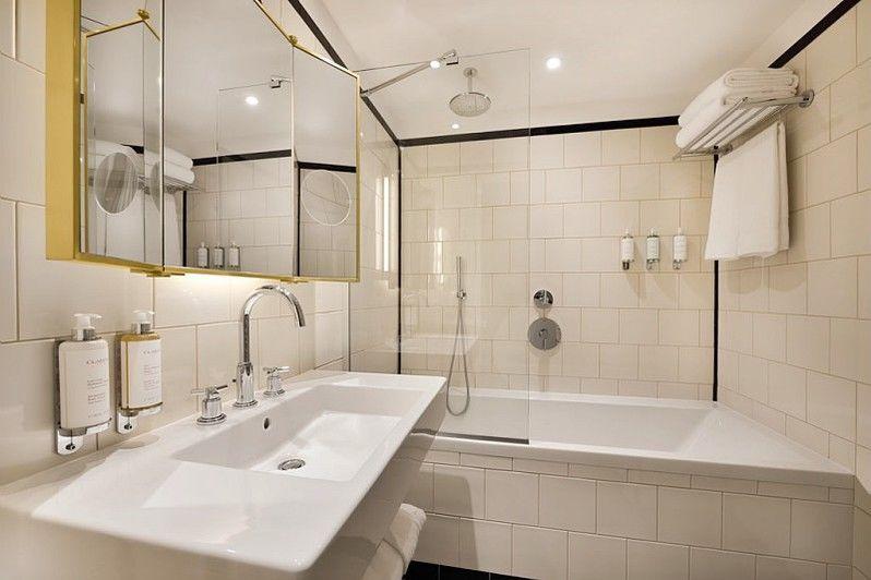 Hôtel L'Échiquier Opéra Paris **** Salle de bain