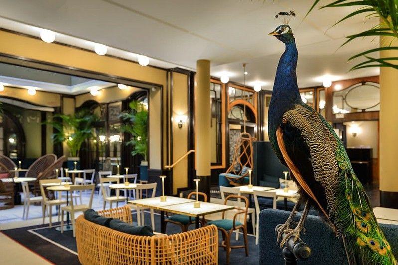 Hôtel L'Échiquier Opéra Paris **** Bar le 38