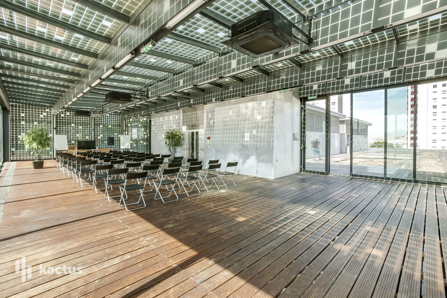 Be Together Coworking Salle Rooftop