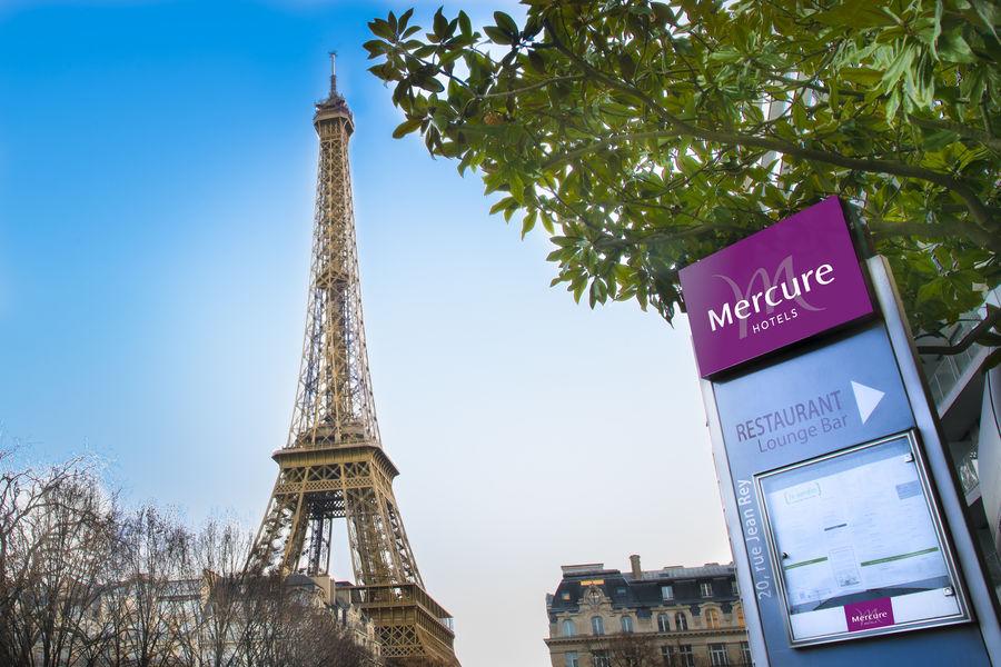 Mercure Paris Centre Tour Eiffel **** Vue sur la Tour Eiffel