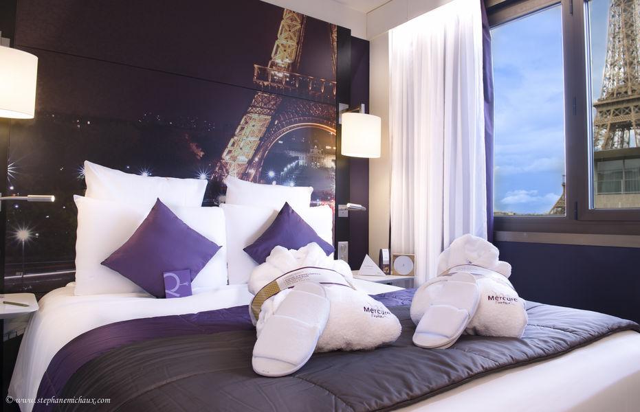 Mercure Paris Centre Tour Eiffel **** Chambre
