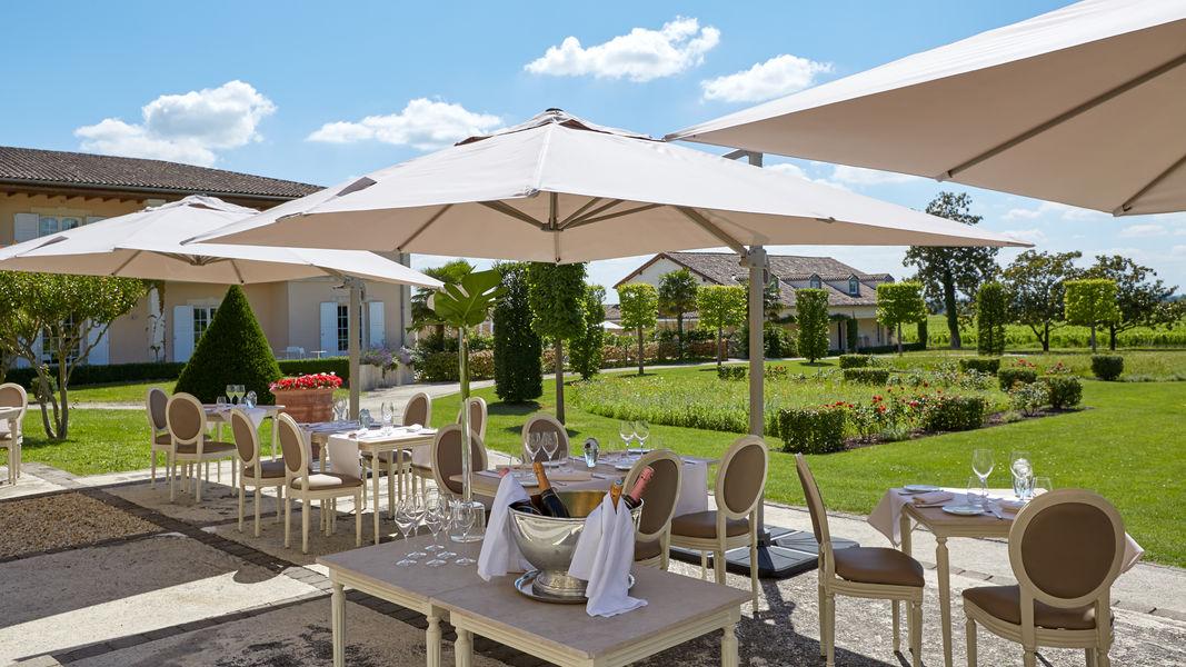 Grand Barrail Château Hôtel et SPA ***** Terrasse