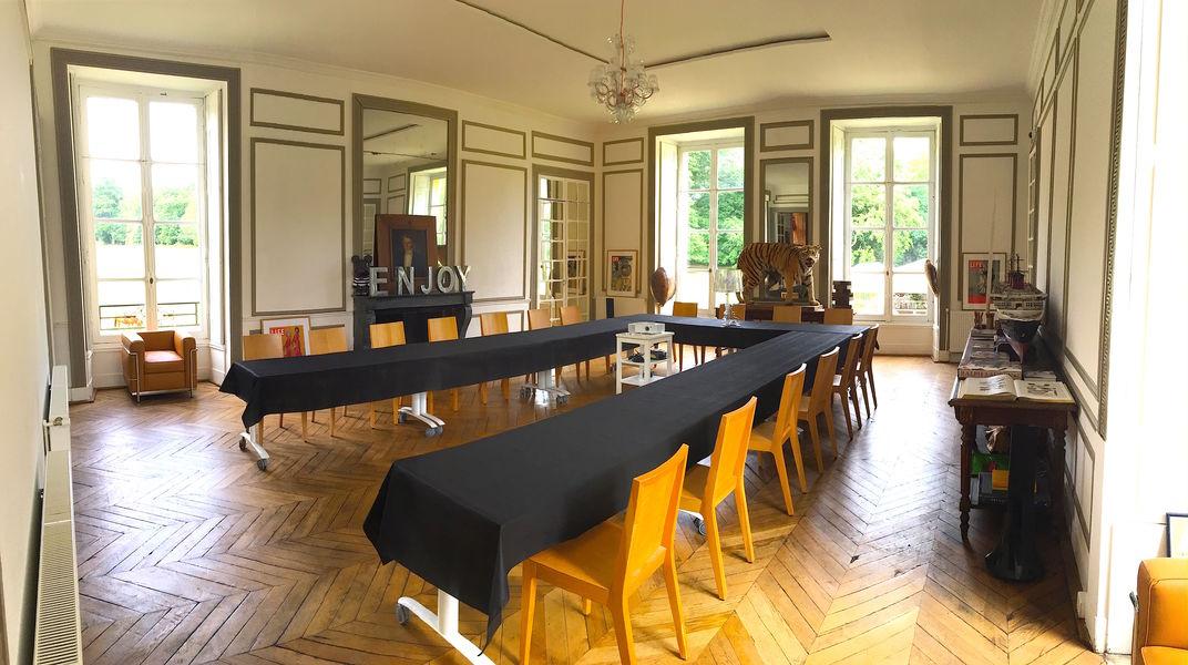 Le Château de Vaugrigneuse Le Grand Salon