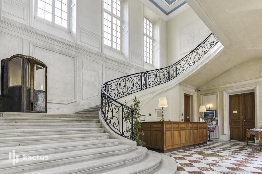 Château d'Ermenonville Escalier
