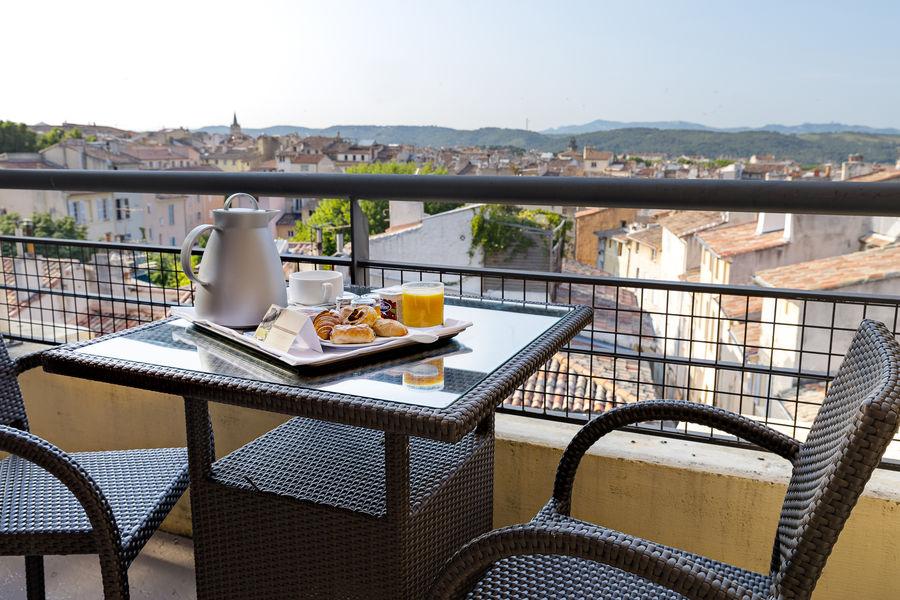 Aquabella Hôtel & Spa **** Terrasse chambre