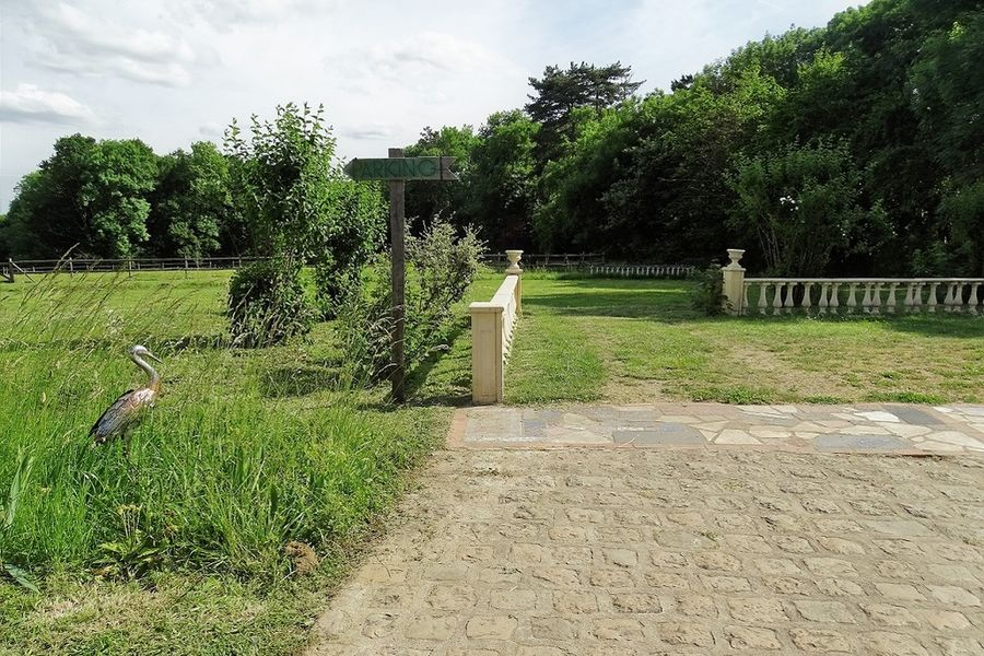 Domaine de la Louvetière Entrée du Parc