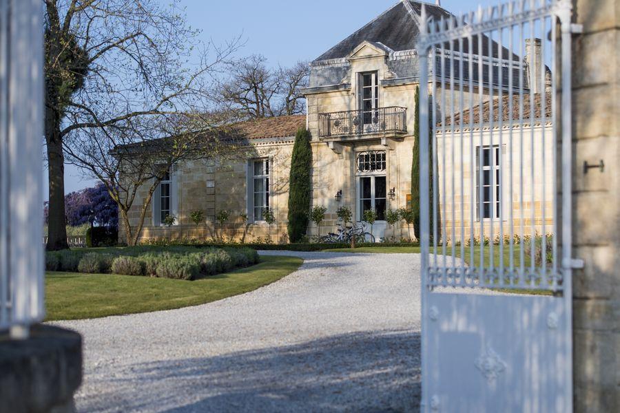 Château Cordeillan-Bages Accueil