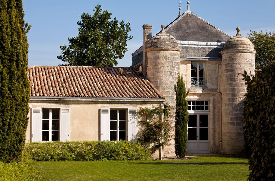 Château Cordeillan-Bages Terrasse