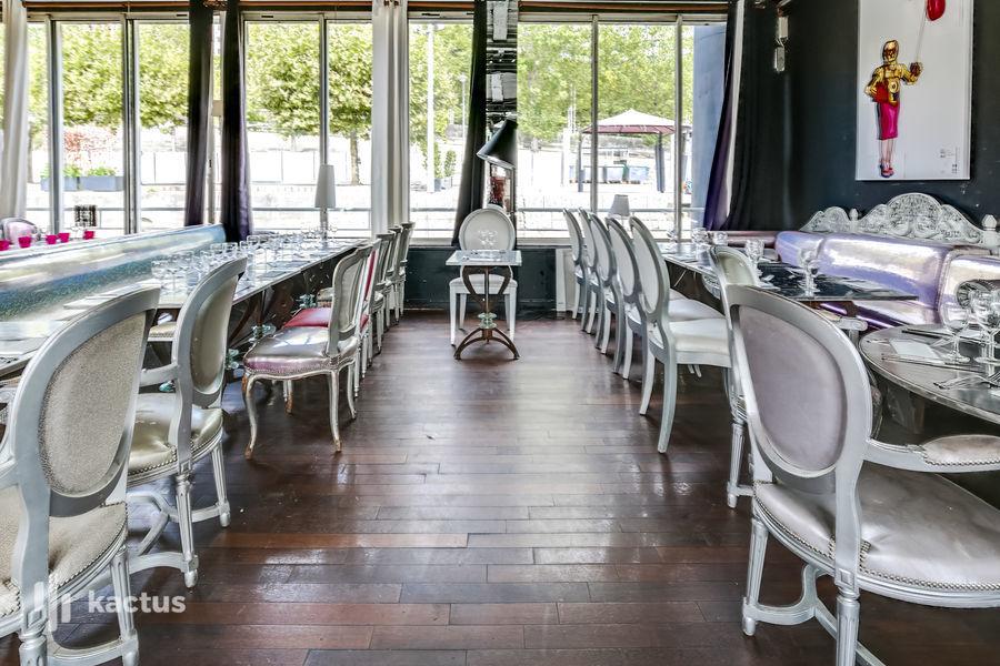 Restaurant Le Café Barge Salon Ministère