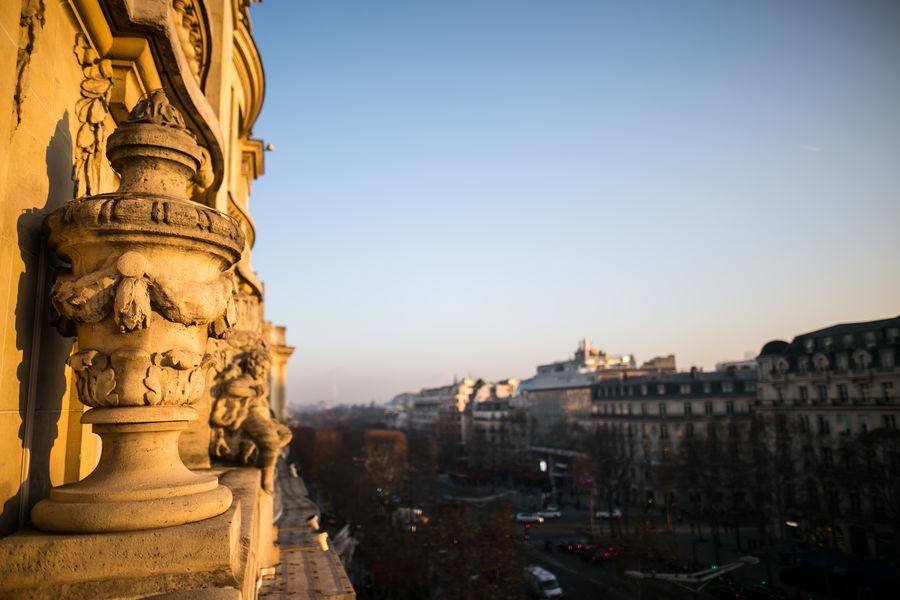 Loft des Champs Elysées vue champs elysees