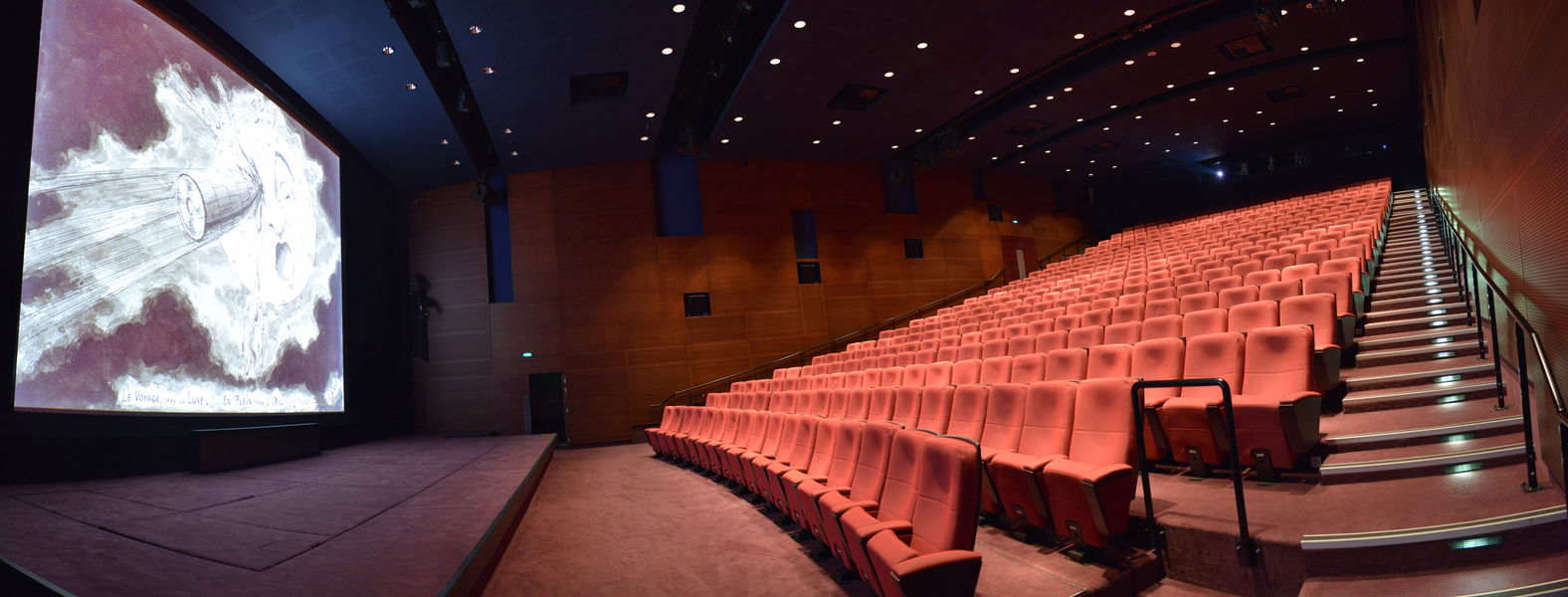 La Cinémathèque française Salle Henri Langlois