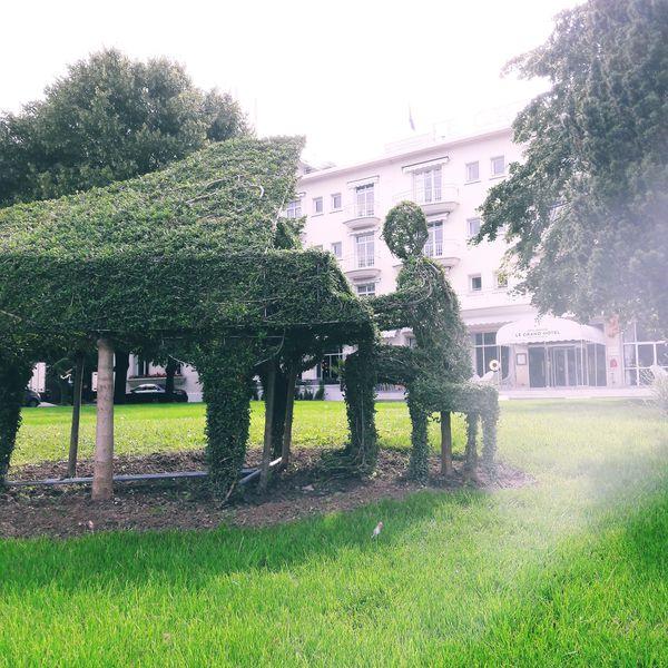 Le Grand Hôtel Enghien-Les-Bains **** Jardin