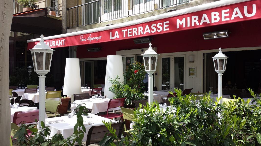 La Terrasse Mirabeau  Terrasse Extérieur