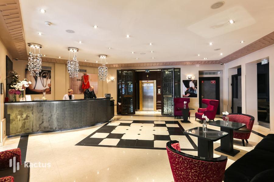 Hôtel Edouard 7 **** Accueil