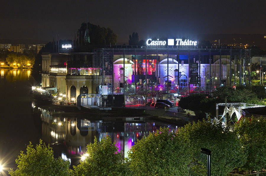 Le Grand Hôtel Enghien-Les-Bains **** Théâtre Casino