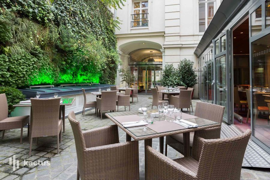 Hôtel Intercontinental Avenue Marceau ***** Terrasse