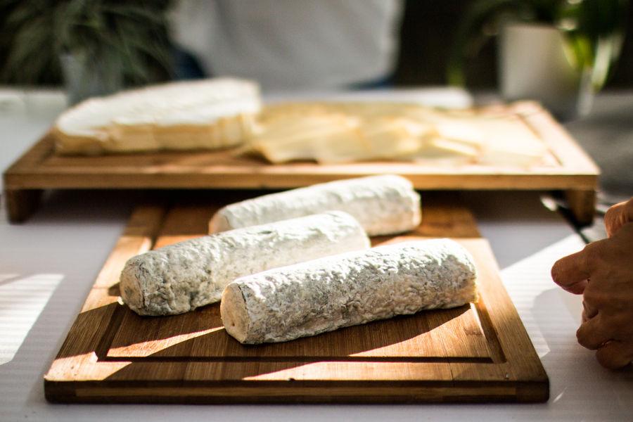À la Folie buffet de fromages affines