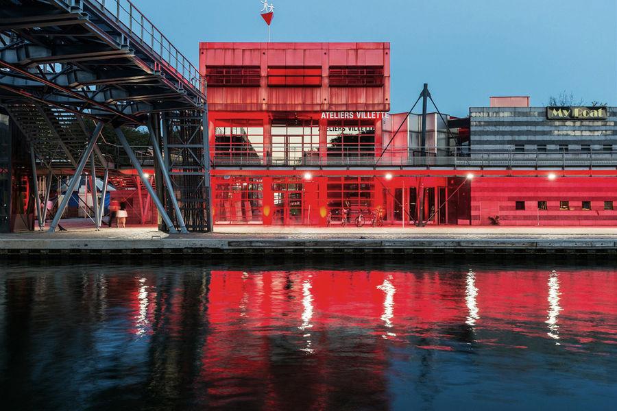 Villette Makerz by WoMa Au bord du Canal de l'ourcq, La Folie des merveilles