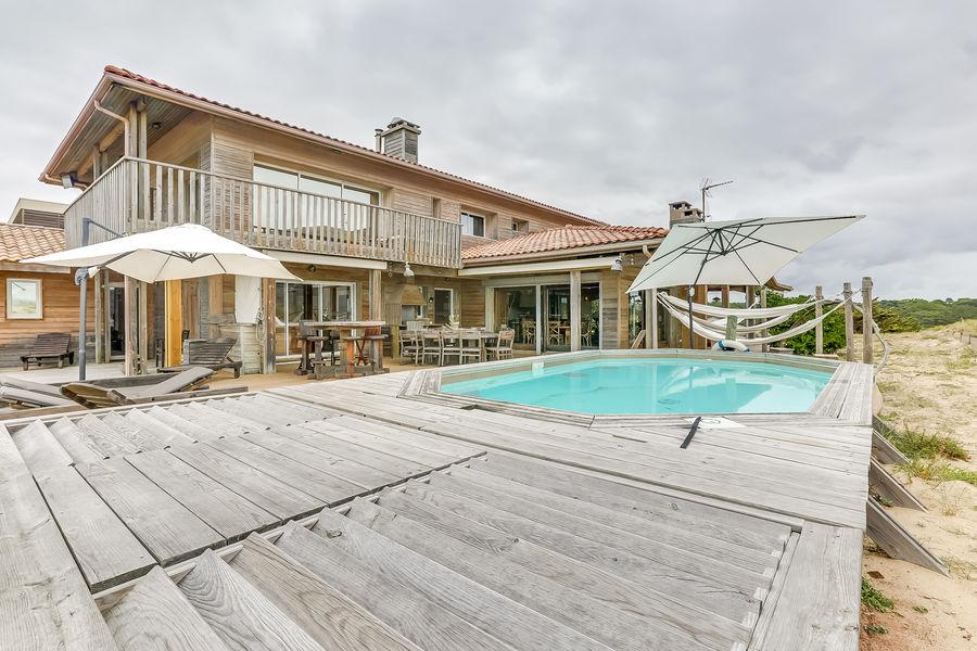 Villa Seignosse Plage Terrasse piscine