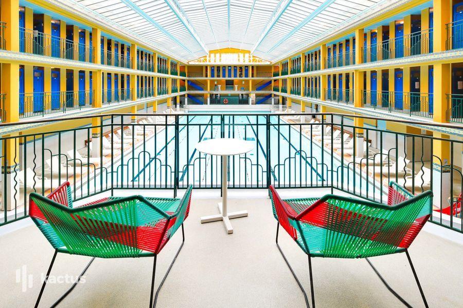 Hôtel Molitor Paris by MGallery ***** Terrasse avec vue sur la piscine