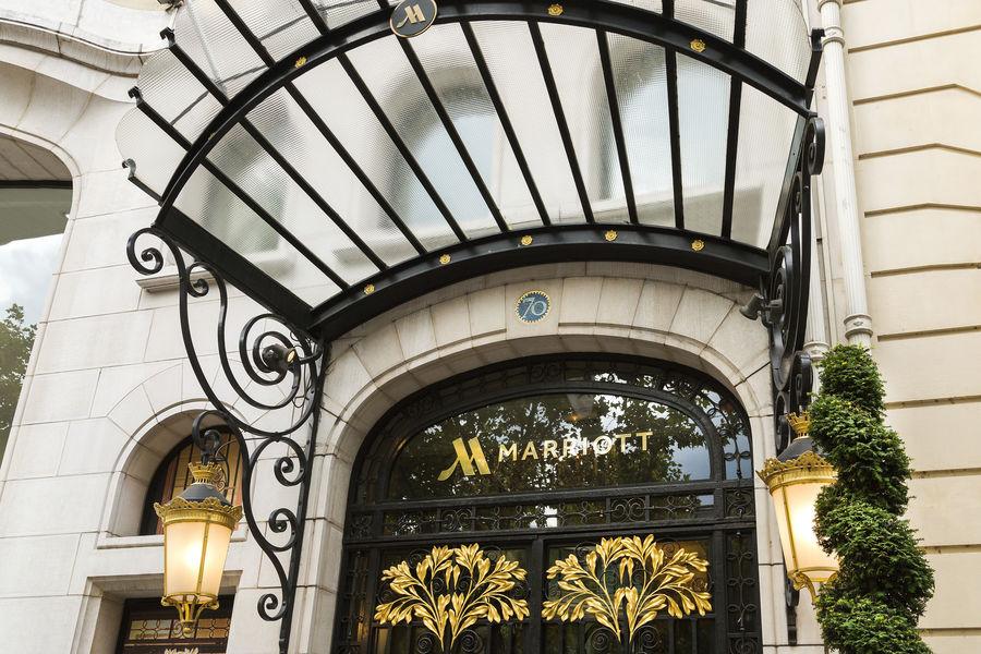 Paris Marriott Champs-Elysées Hôtel ***** Façade
