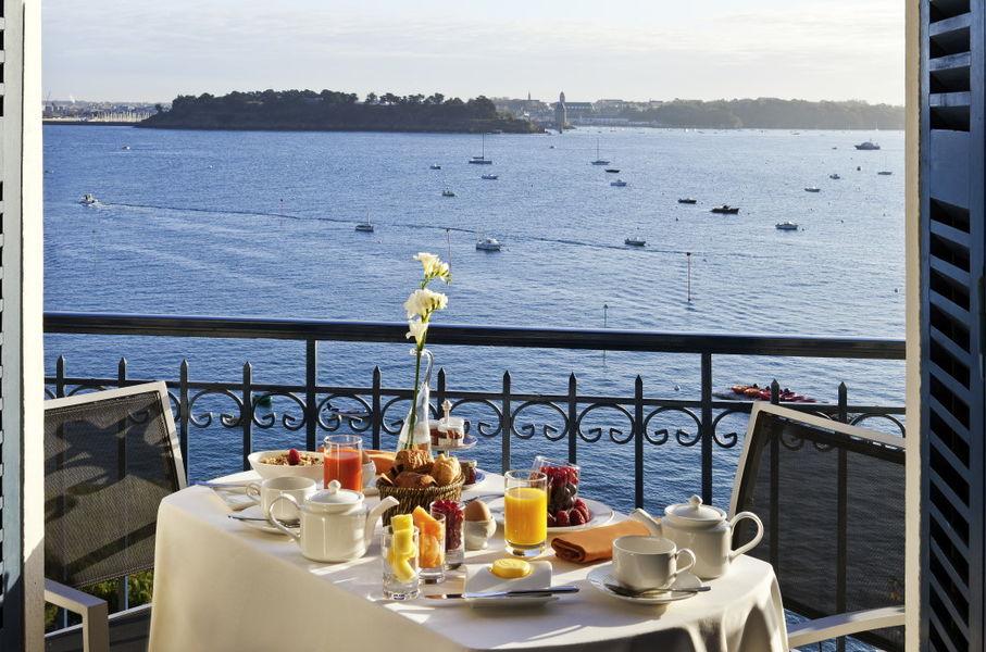 Le Grand Hôtel Dinard ***** Petit-déjeuner