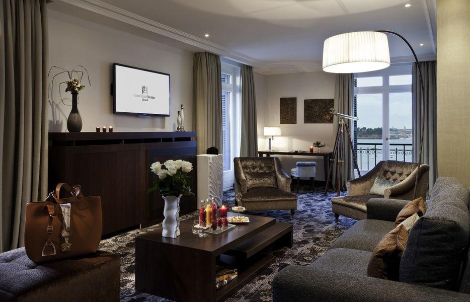 Le Grand Hôtel Dinard ***** Suite prestige mer