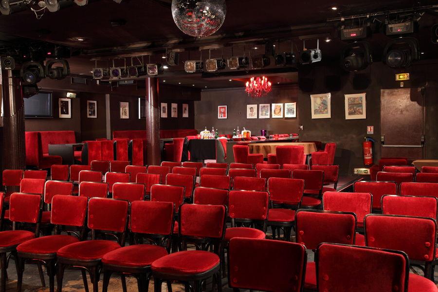 Happy Day's Paris La salle du Happy en théâtre pour vos séminaires, réunions ou colloques