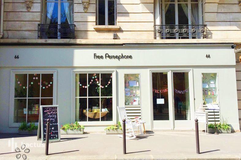 Free Persephone Façade