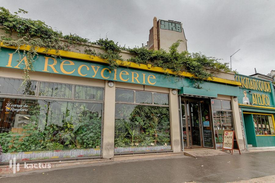 La Recyclerie Façade