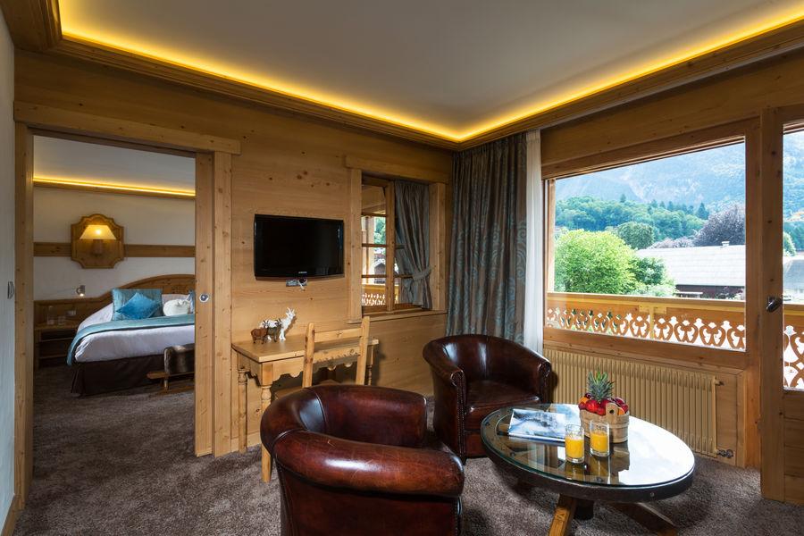 Hôtel Neige et Roc Samoëns **** suite luxe