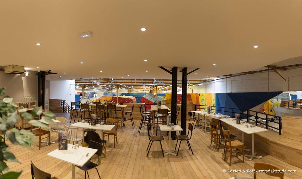 Block'Out Strasbourg - Salle d'escalade et restaurant Mezannine