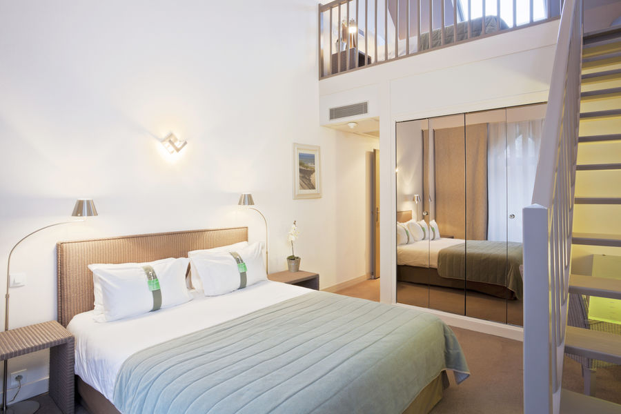 Holiday Inn Touquet Paris-Plage chambre en duplex ( mezzanine)