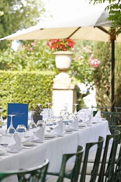 Hôtel le Pigonnet Aix-en-Provence ***** Déjeuner en terrasse