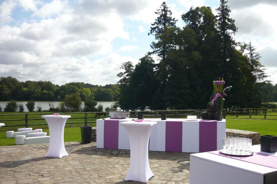 Château de La Poterie Cocktail terrasse