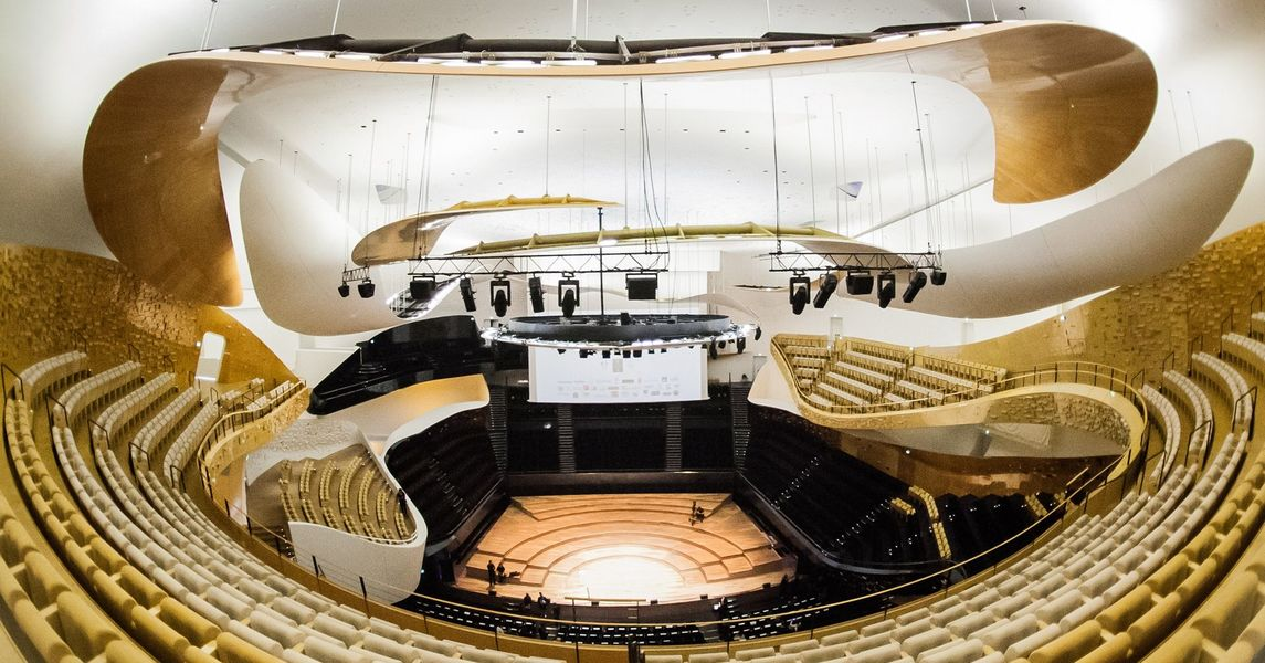 Cité de La Musique - Philharmonie de Paris Grande salle Pierre Boulez